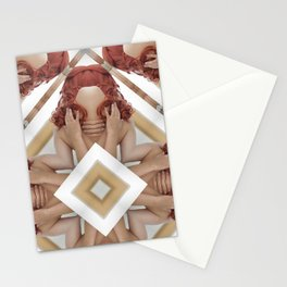 Normal n common woman Stationery Cards