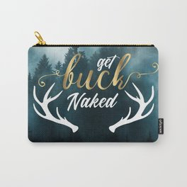 Get Buck Naked Bathroom Curtain Carry-All Pouch