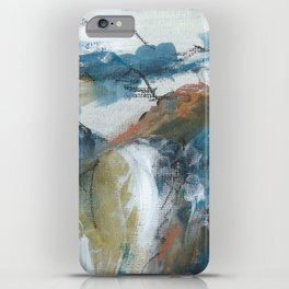 Blue Mountains of Mourne in Ireland iPhone Case