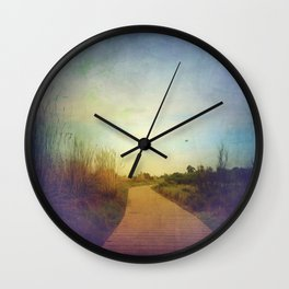 Pave the Way Wall Clock