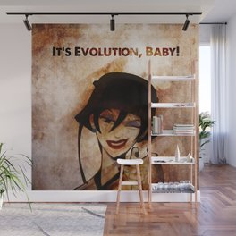 Do the Evolution, Baby! Wall Mural