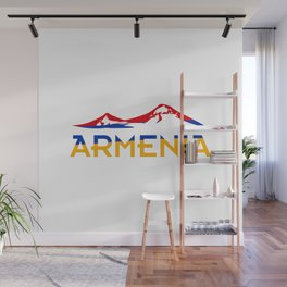 Armenia Ararat Hayastan flag #society6 #decor #buyart #artprint Wall Mural