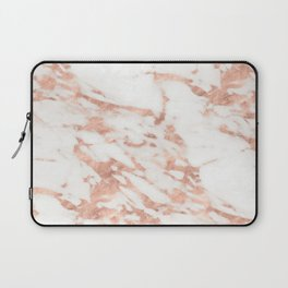 Taggia rose gold marble Laptop Sleeve