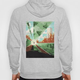 The world that wakes, the world that dreams Hoody