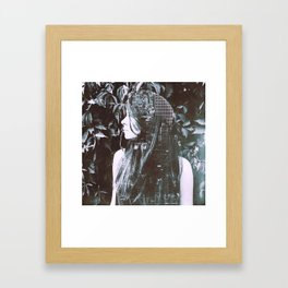 The thought of a big city Framed Art Print