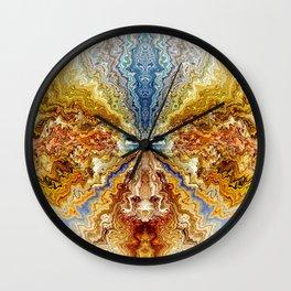 ON AN ISLAND Wall Clock