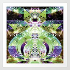 Celestial Divination Art Print