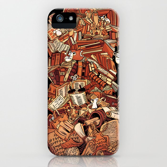 Book history iPhone Case