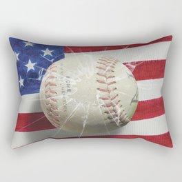 Baseball - New York, New York Rectangular Pillow