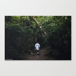 Jungle walk Canvas Print