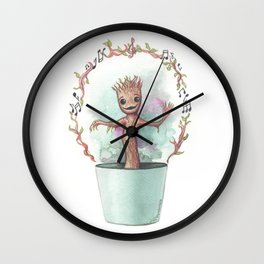 Baby Gro ot Wall Clock