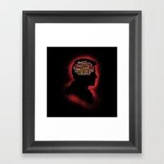 Castiel's Phrenology Framed Art Print