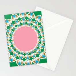 GIRAFFE HEARTS Stationery Cards