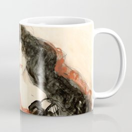 "Gustav Klimt ""Study for Judith II"" Coffee Mug"
