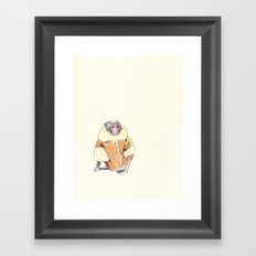 The Stylish Monkey Framed Art Print