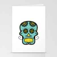 calavera Stationery Cards featuring Calavera  by Cody Wilkes-Booth
