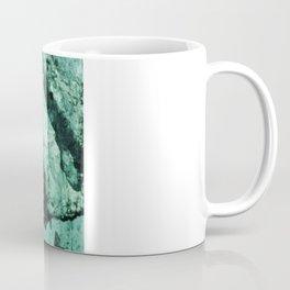 Teal Glass Coffee Mug