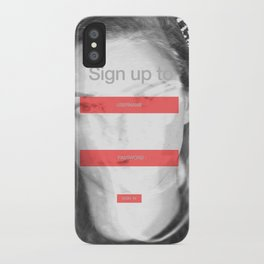 SOCIAL NETWORK iPhone Case