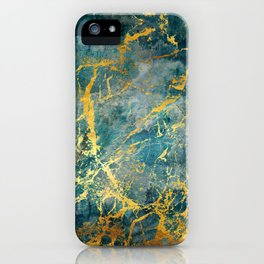 Electric Gold iPhone Case