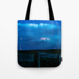 Rolling Wyoming Tote Bag