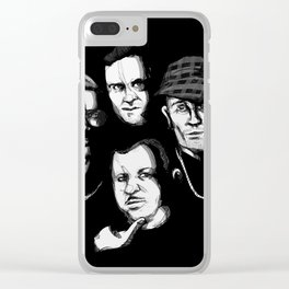 Death Row Clear iPhone Case