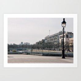 city walk Art Print