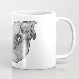 Horse Skull in Ink Coffee Mug