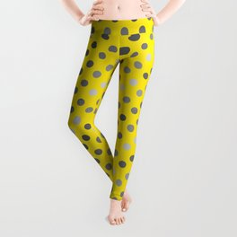 Polka Proton Yellow Leggings