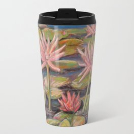 Lilies Galore Travel Mug