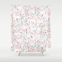 Unicorn Fields Shower Curtain