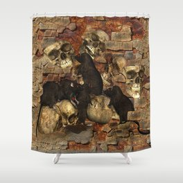 Rattenkinder Shower Curtain