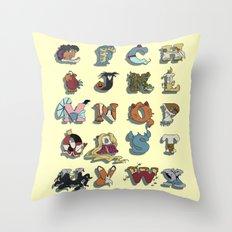 The Disney Alphabet Throw Pillow