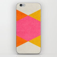 summer triangles iPhone Skin