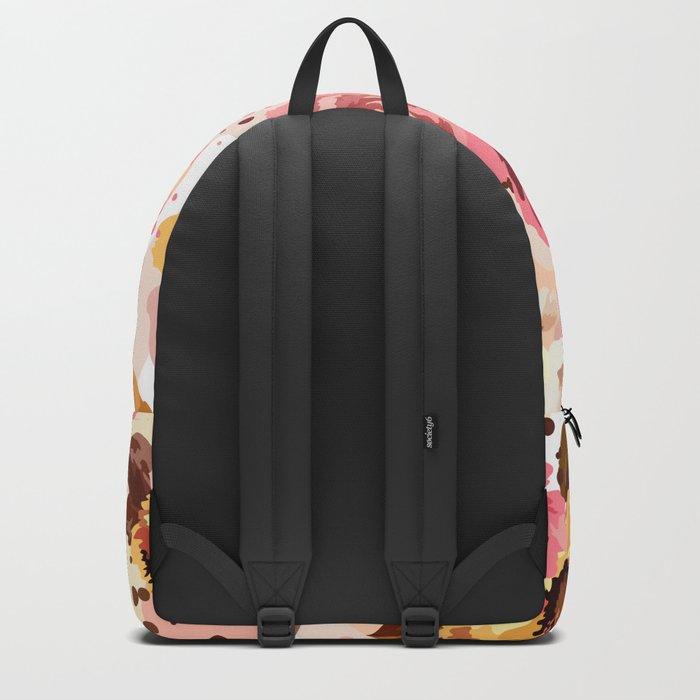 Pattern Flowers 01 Backpack