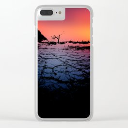 Silhouettes in the Desert Clear iPhone Case