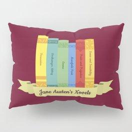 The Jane Austen's Novels III Pillow Sham