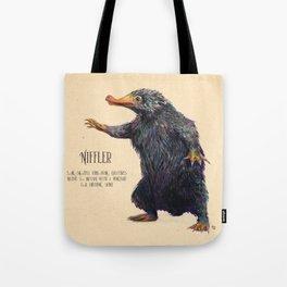 Niffler art Fantastic Beasts Tote Bag
