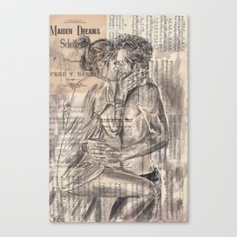 Morning Kiss Canvas Print