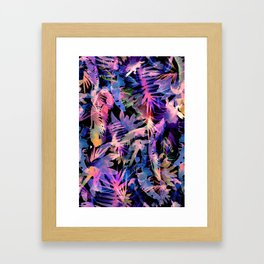 VIBE of the JUNGLE  {E-Multi} Framed Art Print