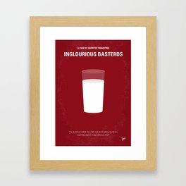 No138 My Inglourious Basterds mmp Framed Art Print
