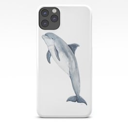 Bottlenose dolphin jump iPhone Case