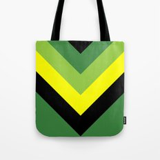 V-lines Green style Tote Bag