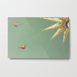 Steadier Footing Metal Print