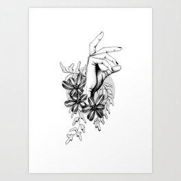 Delicate Hand Art Print