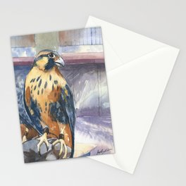 Two Baby Falcons Stationery Cards