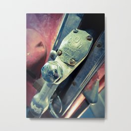 Fil-o-matic Gas Pump Metal Print