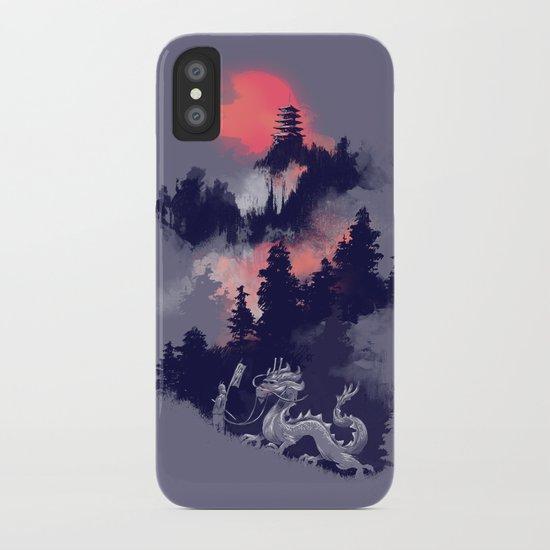 Samurai's life iPhone Case