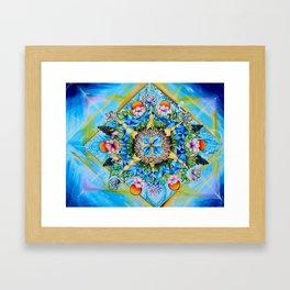 Geometric Explosion - Andrew Kaminski Art Framed Art Print