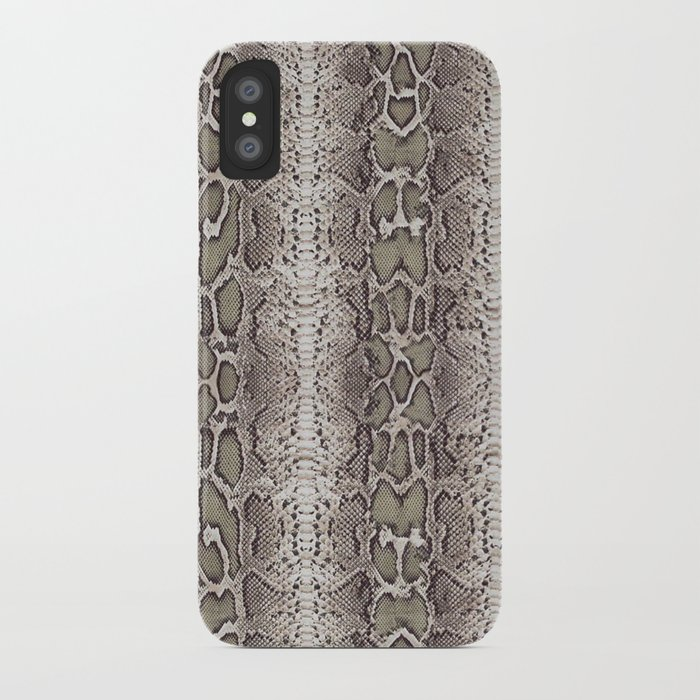 snake skin iphone case