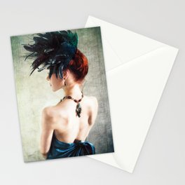Madame Peacock II Stationery Cards